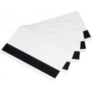כרטיסים לבנים עם פס מגנטי