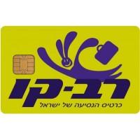 Rav-Kav Smart Card for public transportation